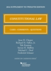 Image for Constitutional law  : cases, comments, and questions