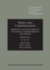 Image for Torts and Compensation, Personal Accountability and Social Responsibility for Injury