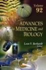 Image for Advances in medicine & biologyVolume 92