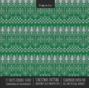 Image for Christmas Pattern Scrapbook Paper Pad 8x8 Decorative Scrapbooking Kit for Cardmaking Gifts, DIY Crafts, Printmaking, Papercrafts, Green Knit Ugly Sweater Style