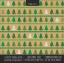 Image for Christmas Trees Pattern Scrapbook Paper Pad 8x8 Decorative Scrapbooking Kit for Cardmaking Gifts, DIY Crafts, Printmaking, Papercrafts, Green Giftwrap Style
