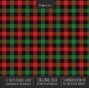 Image for Christmas Plaid Scrapbook Paper Pad 8x8 Scrapbooking Kit for Cardmaking Gifts, DIY Crafts, Printmaking, Papercrafts, Holiday Decorative Pattern Pages