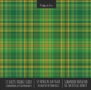 Image for St. Patrick's Day Plaid Scrapbook Paper Pad 8x8 Scrapbooking Kit for Cardmaking Gifts, DIY Crafts, Printmaking, Papercrafts, Green Decorative Pattern Pages