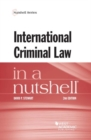 Image for International Criminal Law in a Nutshell