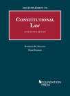 Image for Constitutional Law : 2018 Supplement