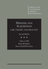 Image for Mergers and Acquisitions : Law, Theory, and Practice