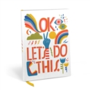 Image for Emily McDowell & Friends Lisa Congdon OK Let's Do This Journal