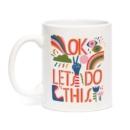 Image for Emily McDowell & Friends Lisa Congdon OK Let's Do This Mug