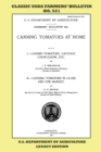 Image for Canning Tomatoes At Home (Legacy Edition) : Classic USDA Farmers' Bulletin No. 521