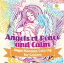 Image for Angels of Peace and Calm Angel Mandala Coloring for Seniors