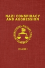 Image for Nazi Conspiracy And Aggression : Volume I (The Red Series)