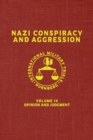 Image for Nazi Conspiracy And Aggression : Volume IX -- Opinion and Judgment -- (The Red Series)