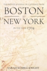 Image for The Private Journal of a Journey from Boston to New York in the Year 1704