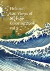 Image for Hokusai 100 Views of Mt Fuji Coloring Book vol 3