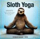 Image for Sloth Yoga 2018 Wall Calendar
