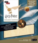 Image for IncrediBuilds: Harry Potter : Golden Snitch 3D Wood Model and Booklet
