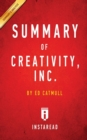Image for Summary of Creativity, Inc. : By Ed Catmull - Includes Analysis