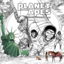 Image for Planet of the Apes Adult Coloring Book
