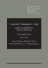 Image for Constitutional Law - CasebookPlus : Cases, Comments, and Questions