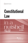Image for Constitutional Law in a Nutshell
