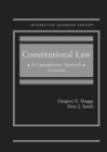Image for Constitutional law  : a contemporary approach