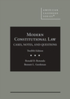 Image for Modern Constitutional Law : Cases, Notes, and Questions