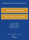 Image for Constitutional law  : cases, comments, and questions: 2020 supplement