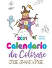 Image for Calendario da colorare 2021 cose spaventose (edizione italiana)