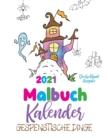 Image for Malbuch Kalender 2021 Gespenstische Dinge (Deutschland Ausgabe)