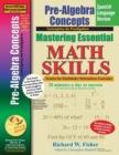 Image for Pre-Algebra Concepts, Mastering Essential Math Skills Spanish Language Version