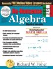 Image for No-Nonsense Algebra, Bilingual Edition (English - Spanish) : Master Algebra the Easy Way