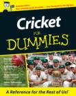 Image for Cricket For Dummies