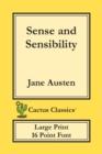 Image for Sense and Sensibility (Cactus Classics Large Print) : 16 Point Font; Large Text; Large Type