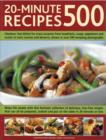 Image for 20-minute recipes 500  : fabulous, fast dishes for every occasion from breakfasts, soups, appetizers and snacks to main courses and desserts, shown in over 500 tempting photographs