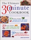 Image for The ultimate 30 minute cookbook