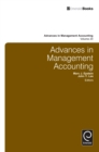 Image for Advances in management accounting. : Volume 20