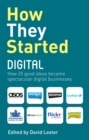 Image for How they started digital