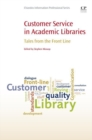Image for Customer service in academic libraries