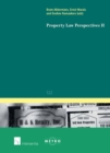Image for Property Law Perspectives II