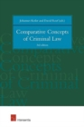 Image for Comparative concepts of criminal law