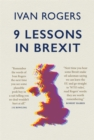 Image for 9 lessons in Brexit
