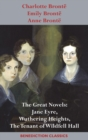 Image for Charlotte Bronte, Emily Bronte and Anne Bronte : The Great Novels: Jane Eyre, Wuthering Heights, and The Tenant of Wildfell Hall