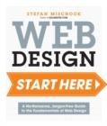 Image for Web design  : a no-nonsense, jargon-free guide to the fundamentals of web design