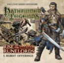 Image for Rise of the Runelords: Burnt Offerings