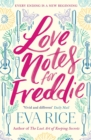 Image for Love notes for Freddie