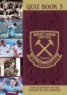 Image for WEST HAM UNITED QUIZ BOOK 125 YEARS
