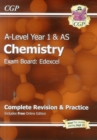 Image for A-Level Chemistry: Edexcel Year 1 & AS Complete Revision & Practice with Online Edition