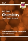 Image for A-Level Chemistry: Edexcel Year 1 & 2 Complete Revision & Practice with Online Edition