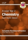 Image for A-Level Chemistry: Edexcel Year 2 Complete Revision & Practice with Online Edition