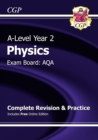 Image for New A-Level Physics: AQA Year 2 Complete Revision & Practice with Online Edition